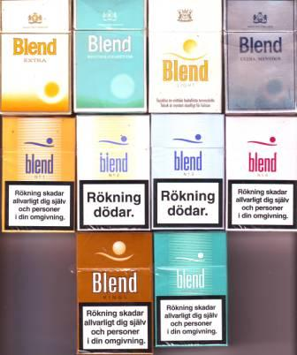 What is in a LM menthol cigarette