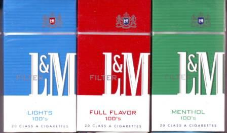 L&m menthol cigarettes coupons